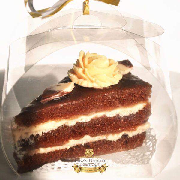 Chocolate cake soap 2