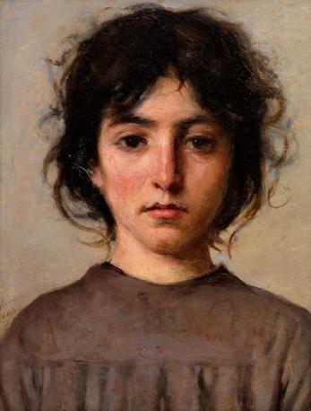 Silvestro Lega (1826-1895)    Adolescente