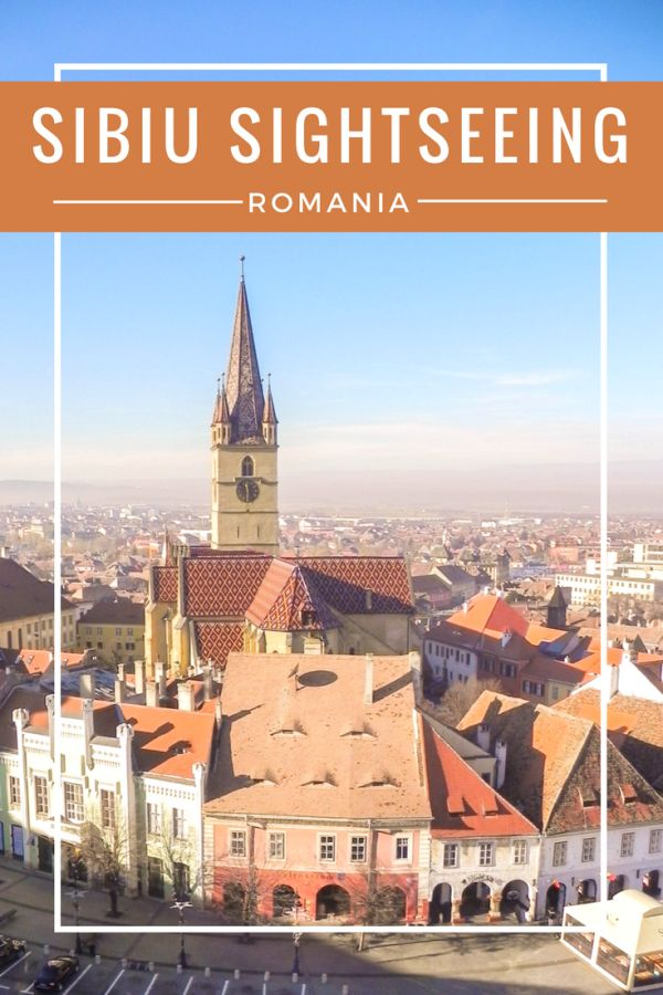 Sightseeing in Sibiu   ROMANIA