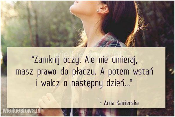 Zamknij oczy. Ale nie umieraj... #Kamieńska-Anna,  #Ból,-cierpienie,-łzy
