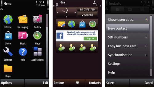 OS Symbian 5th NOKIA