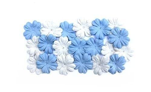 Nieuw bij Knutselparade: 4RT5 Scrapberry's papieren bloemen blauw/wit SCB300806 https://knutselparade.nl/nl/versieringen/2914-4rt5-scrapberry-s-papieren-bloemen-blauw-wit-scb300806.html   Scrapbook, Scrapbookversieringen, Versieringen, Papieren Decoraties -