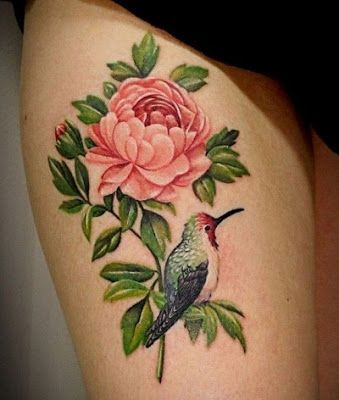 flores- tatuadas-diseños-coloridos                              …