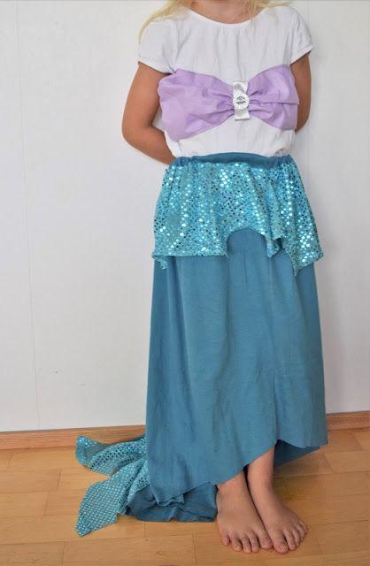 Mitt arkiv: Prinsessklänning nr 5, sjöjungfrun Ariel
