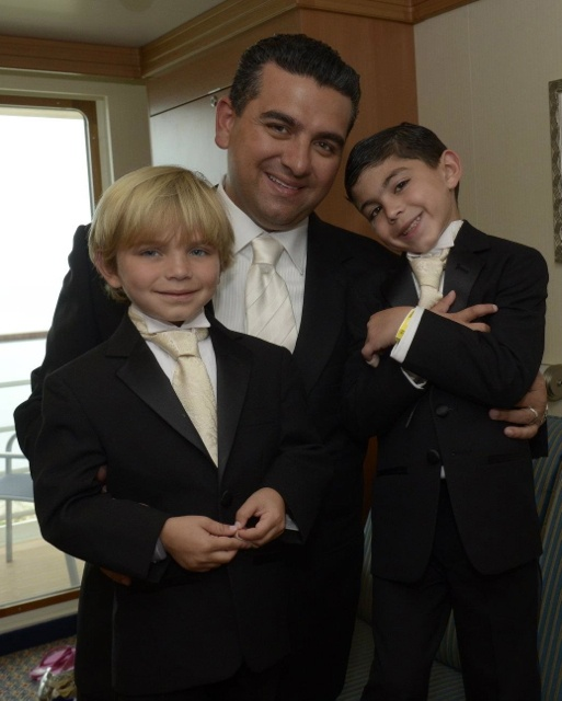 Buddy with little Buddy and Marco | La Famiglia ...