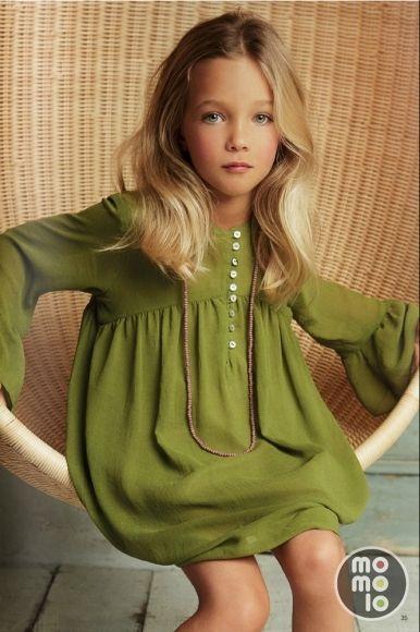 Vestidos bonitos de moda para nina