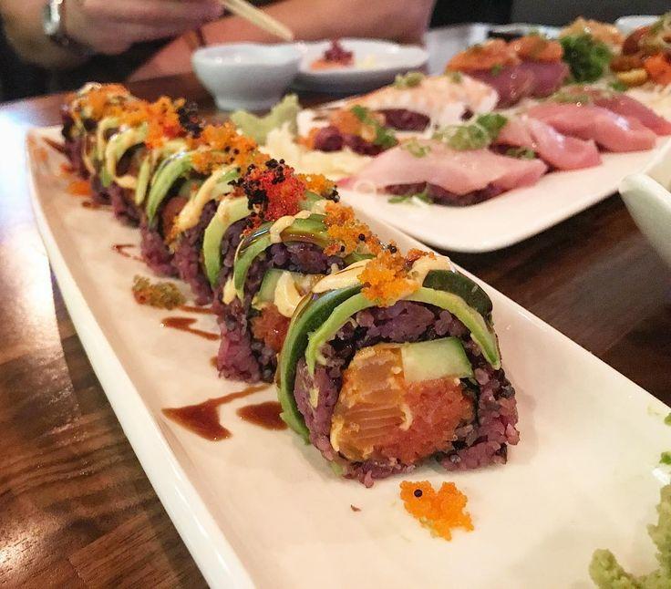 "25 Likes, 3 Comments - Angel (@aliu1560) on Instagram: ""Found my new favorite sushi joint!  #datenight #scottsdale #blackrice #sushisaturday #foodporn…"""
