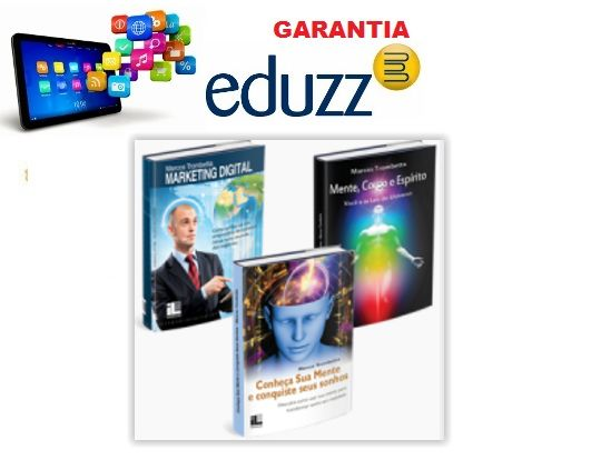 Combo 3 Ebooks de Marcos Trombetta Conheça sua mente e conquiste seus sonhos - Corpo, Mente e Espírito e Marketing Digital
