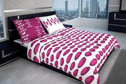 Ružovo - fialová v kombinácii s bielou oživí každú spálňu a stane sa neodmysliteľnou súčasťou vášho života.