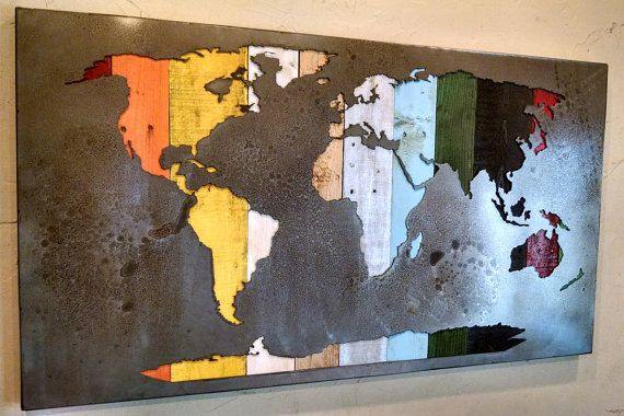 Hey, I found this really awesome Etsy listing at https://www.etsy.com/listing/227591115/map-of-the-world-reverse-cut-mural-map
