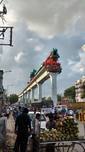 Hyderabad, metro rail.