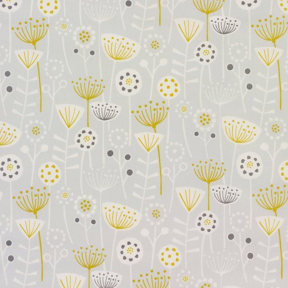 Another One Of Our Beautiful Bergen Scandinavian Range Is This Bergen Grey Floral Scandinavian Oilcloth Wipe Clean Tabl Tablecloth Fabric Oil Cloth Grey Fabric