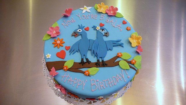 RIO Birthday Cake by CAKE Amsterdam - Cakes by ZOBOT, via Flickr