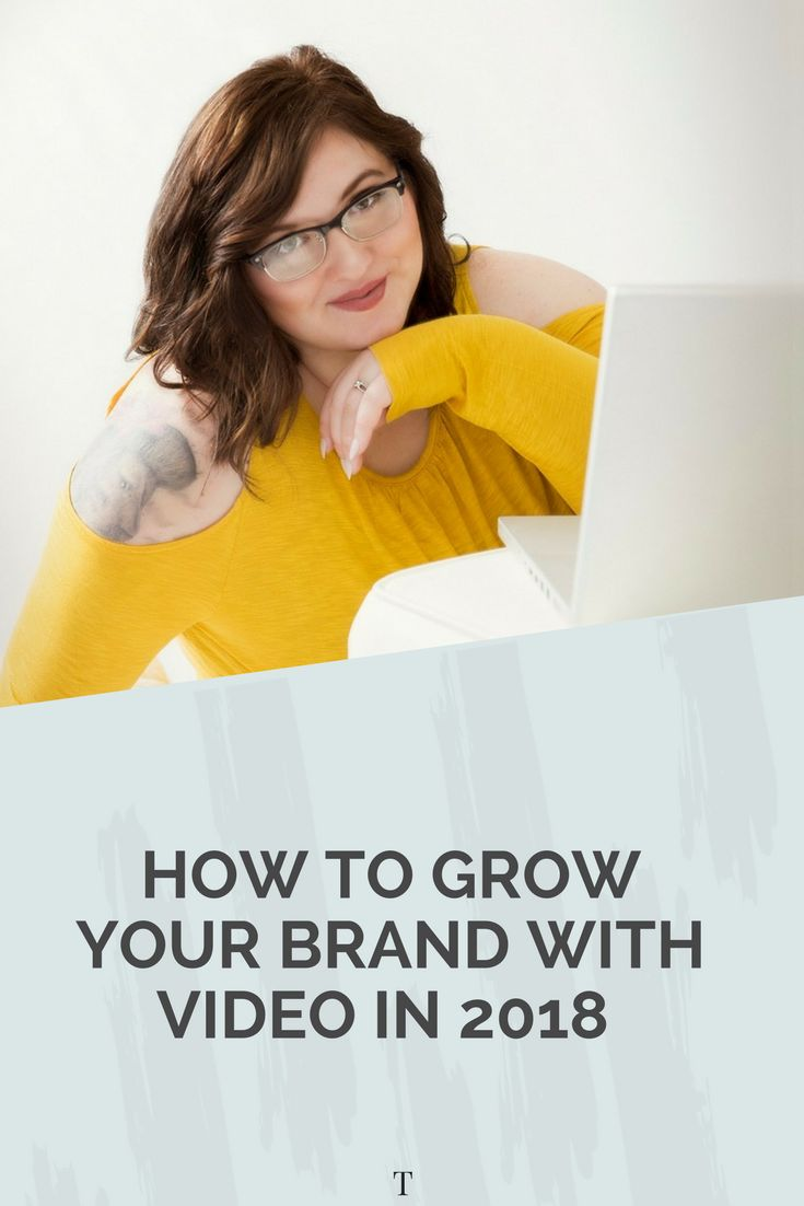 In this post I walk you through how to grow your brand and business with video. Re-pin to save for later or click through to read.