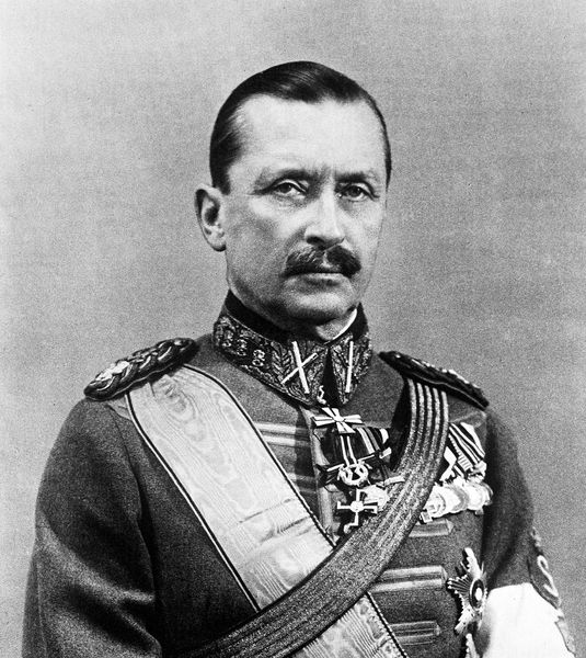 Baron Carl Gustaf Emil Mannerheim (4 June 1867 – 27 January 1951) was a Finnish military leader and statesman. Widely regarded by Finns and non-Finns alike as the father of the modern independent state of Finland, Mannerheim served as the military leader of the Whites in the Finnish Civil War, Regent of Finland (1918–1919) Commander-in-Chief of Finland's Defence Forces during World War II, Marshal of Finland, and the sixth President of Finland (1944–1946).