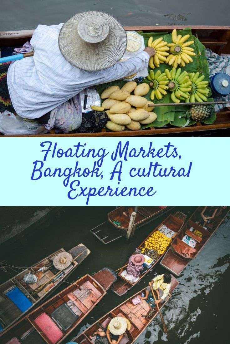 Bangkok S Floating Markets Traveling By Yourself Food Visit Thailand