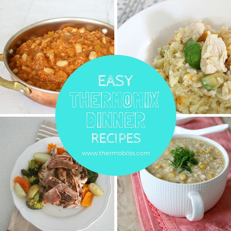 We've put together a collection of our favourite easy Thermomix Dinner Recipes to help make meal times just that little bit easier for you - enjoy!