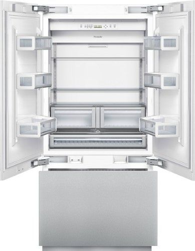 #manythings Store all the food in this #Thermador 36-inch Built-In French Door Bottom-Freezer. Its unique design and stainless steel finish modernizes any kitche...