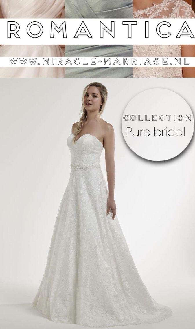 #miracleontwerpers Romantica Collection Pure Bridal  #romantica #purebridal #trouwen #bruidsjurk
