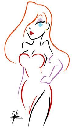 Rose Cut Out Template | 1000+ ideas about Jessica Rabbit Tattoo on Pinterest | Jessica Rabbit ...