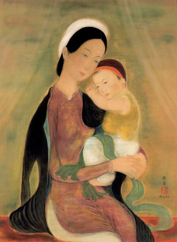 Ле Фо (Le Pho), 1907-2001.  Материнство