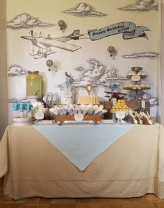 Awesome airplane party ideas!!!!