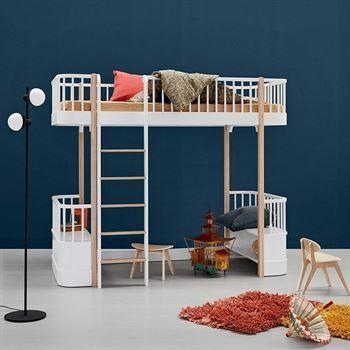 Oliver Furniture Hochbett Wood Weiß/Eiche Leiter Vorne Jetzt Bestellen  Unter: Https:/