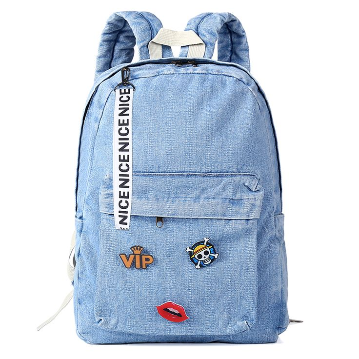 2017 jeans Women backpack denim backpacks school bags for teenage girls canvas bags laptop backpack female bag mochila feminina ** Detailed information can be found by clicking on the VISIT button