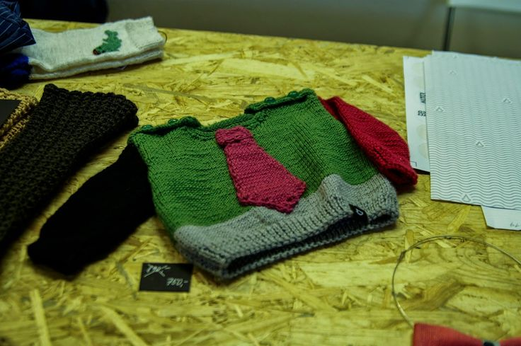 Kid's jumper from the project Alter Deco which cooperate with Czech artisans in age 50+