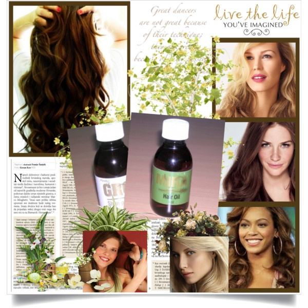 """""""Mira Hair Oil Grows Your Hair Faster, Longer, Thicker & More Beautiful!"""" by grow-hair-faster on Polyvore"""