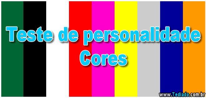 Teste de personalidade - Cores
