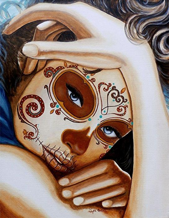 El Amor Que Siento Por Vosotros Es Intemporal Canvas Print / Canvas Art by Al…