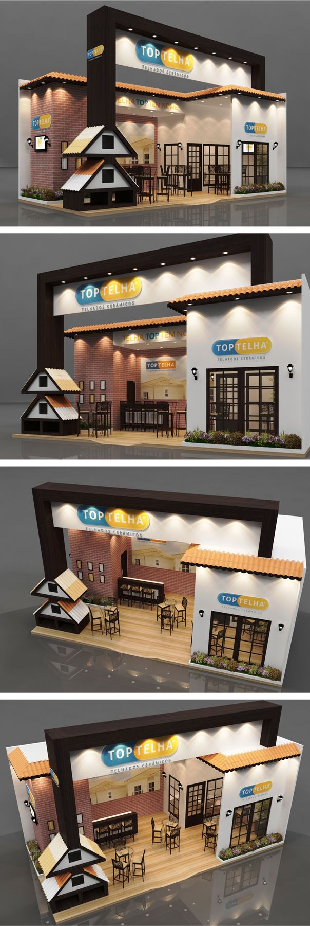 Eye-catching exhibition stand design