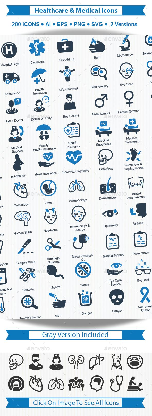 Health care & Medical Icons — Vector EPS #diagnosis #doctor consultation • Available here → https://graphicriver.net/item/health-care-medical-icons/16244508?ref=pxcr