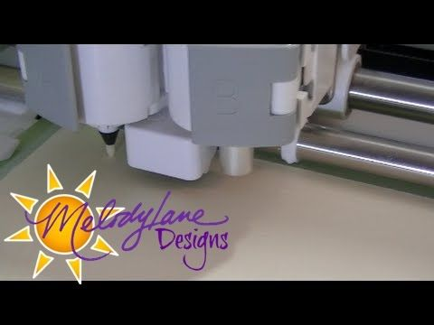 How to Emboss with the Cricut Explore   Personal Die Cutting