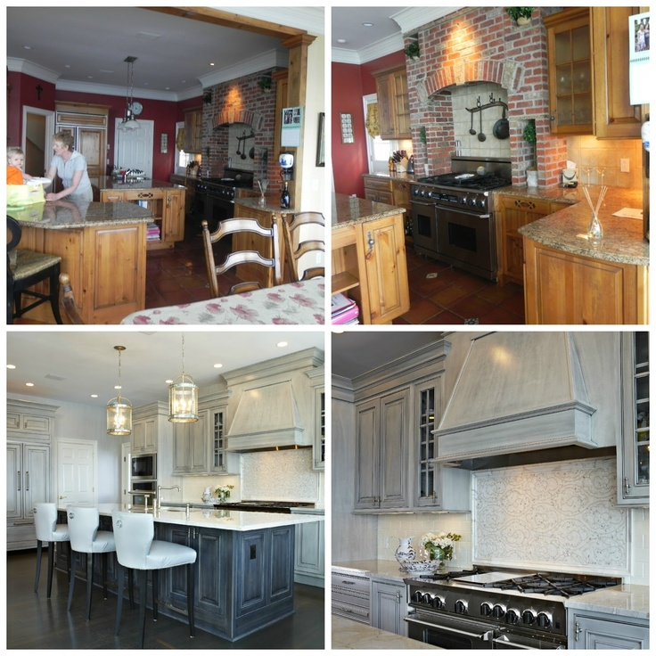 13 Best Images About Before And After Kitchens On