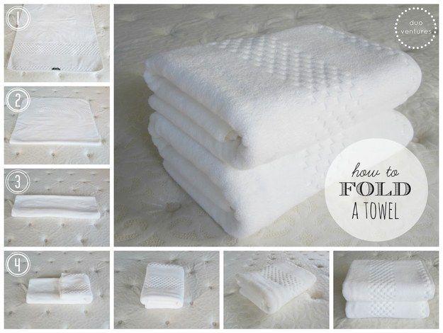 1000 ideas about fold towels on pinterest towels bath for Bathroom towel folding designs