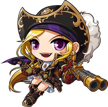 MapleStory Adventurer Pirate Job Selection