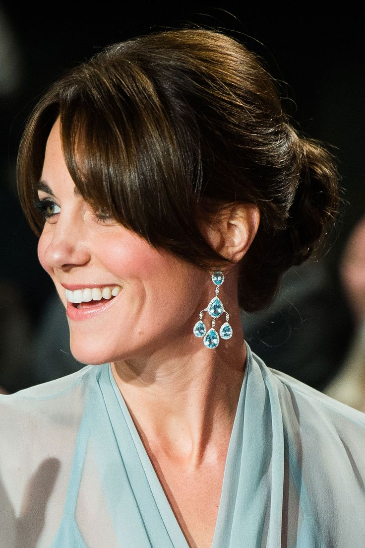 Earring inspiration from the Duchess of Cambridge