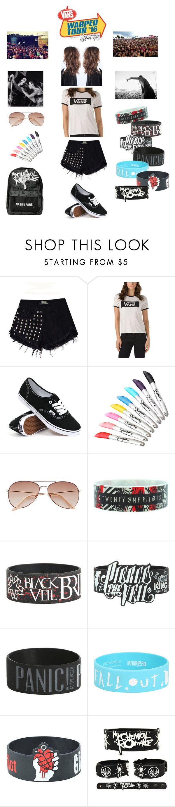How i do my indie short scene hair youtube - From Scenehair My Vans Warped Tour Outfit By Nikki Graff Liked On Polyvore Featuring