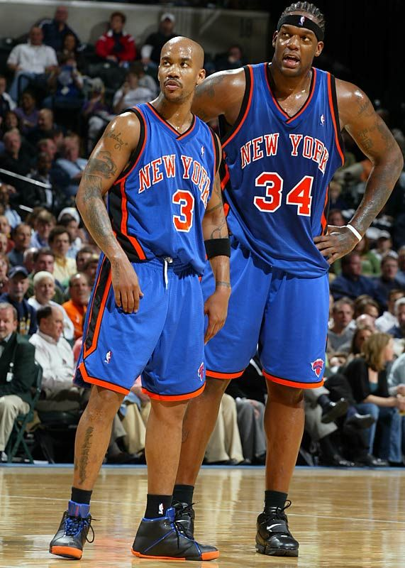Stephon Marbury and Eddy Curry