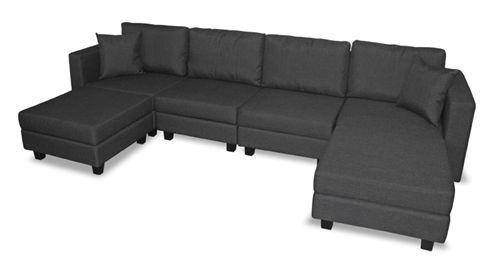 Contemporary and Sleek Designed Modular Sofa with Storage | Waterloo