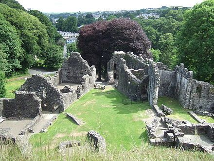 Okehampton Castle; England;  Hugh De Courtenay; B: 1276 Oakhampton Castle, Devon, England. D: 1340. Exeter, Devonshire, England  (Courtenay family line)