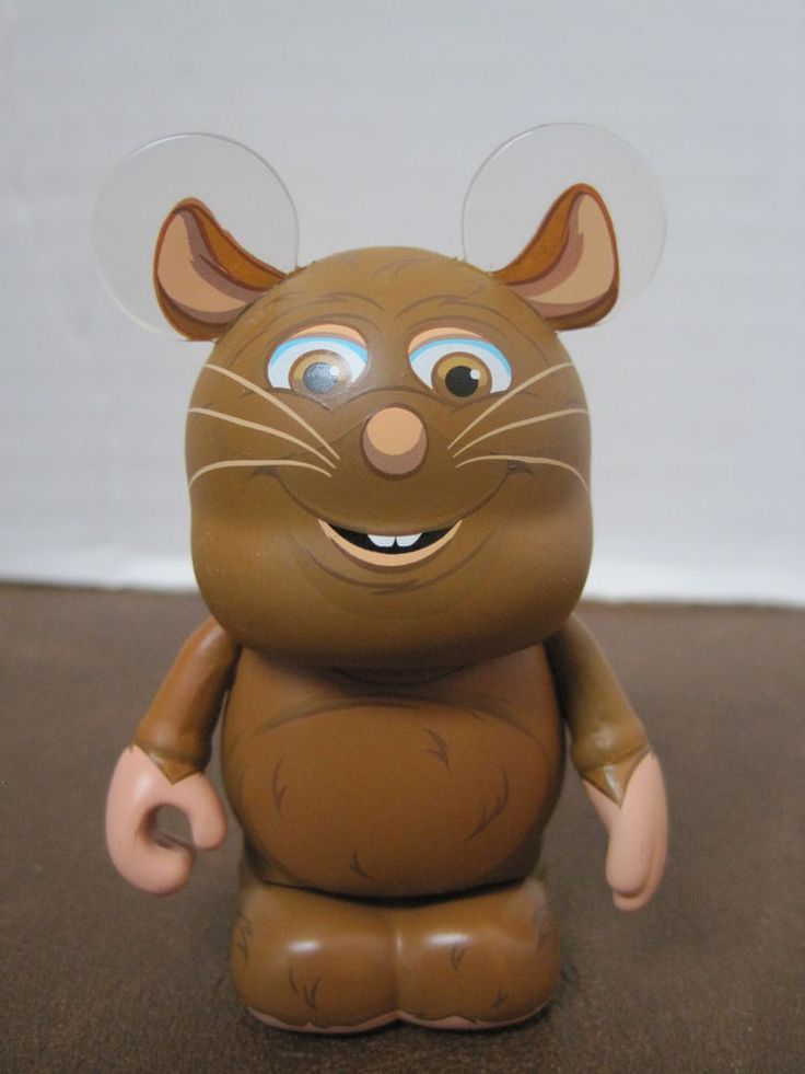 Disney Vinylmation Pixar 2 Emile Rat From Ratatouille