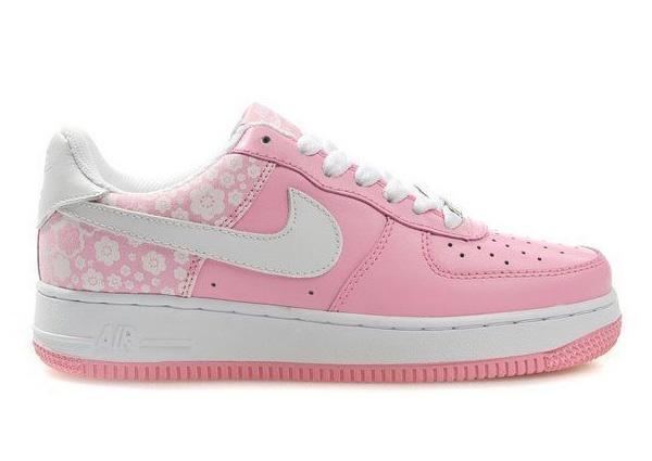 nike air force one rosa