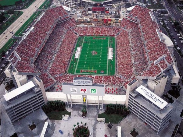 Raymond James Stadium - Tampa Bay Buccanneers