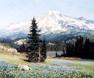 Robert Wood - Mt. Shasta Springtime