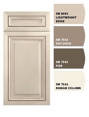 Paint colors from Chip It by SherwinWilliams Biscotti