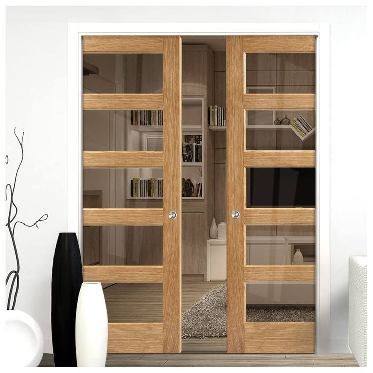 17 best images about lpd pocket door pairs on pinterest for Modern glass pocket doors