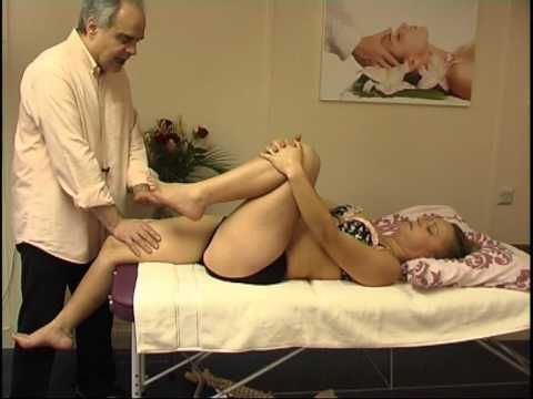 Massage therapy for the psoas muscle release